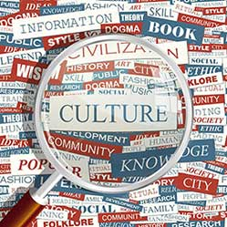 Image of words about culture